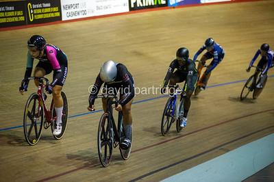 British National Youth and Junior Track Championships 2019. Keirin Championship - Female Junior, Newport Velodrome