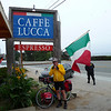 CAFFE LUCCA APPEARED AT THE PERFECT TIME TO GET WARM AND HAVE SOME COFFEE I