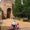 COMING DOWN THE HILL FROM THE ALHAMBRA
