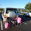 LEAVING THE CAR IN LONG TERM PARKING IN SANTA BARBARA NEAR THE AIRPORT