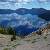 FIRST LOOK AT CRATER LAKE
