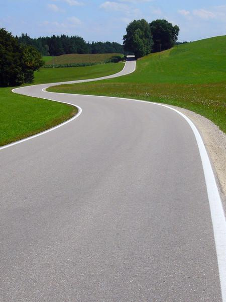 THE LONG AND WINDING ROAD THROUGH BEAUTIFUL BAVARIA