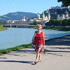 SALZBURG IS WONDERFUL FOR WALKING.