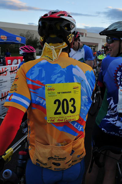 """Everyone who raises $2,000 more receives fancy numbers and a special jersey,  and... best part... they don't have to stand in line for porta-potties!  I'm almost halfway <a href=""""http://main.nationalmssociety.org/site/TR/Bike/COCBikeEvents?px=2106802&pg=personal&fr_id=10973"""">there</A>.  Can your help me?"""