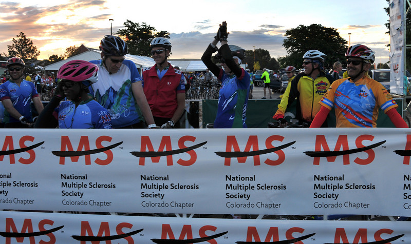 We just learned Colorado's event is the third-top fund-raiser of 100 rides across the country.