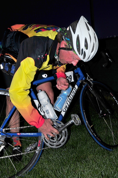 Pre-dawn Bike Adjustments