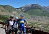 Day 4<br /> <br /> Above Silverton<br /> I did!  I did!  I did see Olympian Alison Dunlap!!!