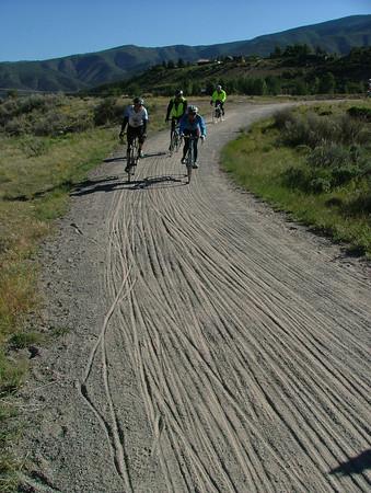 sandy Rio Grande bike path