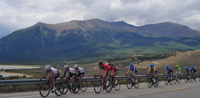 Tejay, Christian and Tommy D and the Boys beneath Mount Elbert
