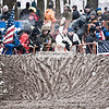 Snow, mud, flags . . . looks like Cyclocross is on the agenda.