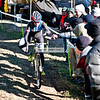 Perfect form, taking the dollar hand-up while keeping the lead.    2013-OVCX-MTV-3277