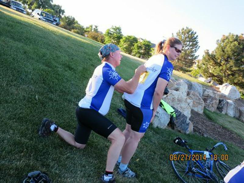 Team Snowcatcher Gets Pinned