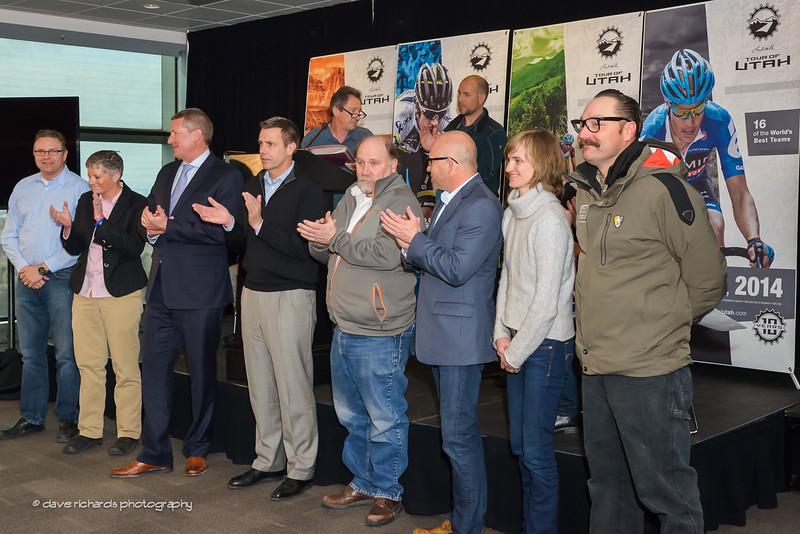 2014 Tour of Utah Host Cities representatives