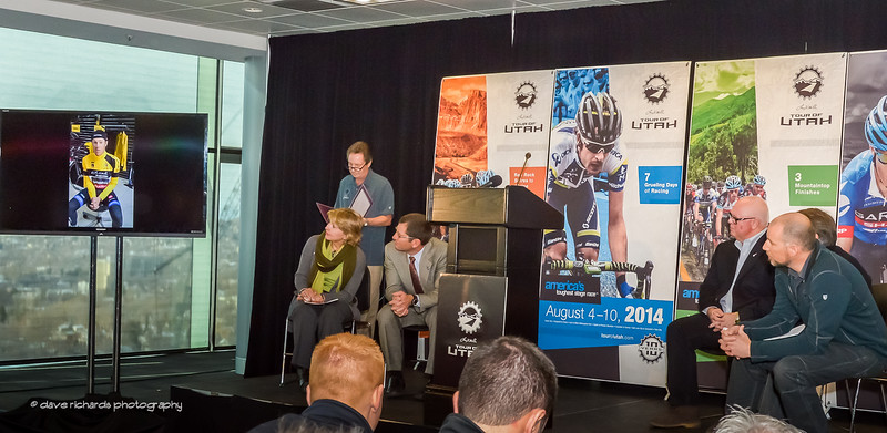 2013 Tour of Utah Winner, Tommy Danielson video interview @ 2014 ToU Announcement