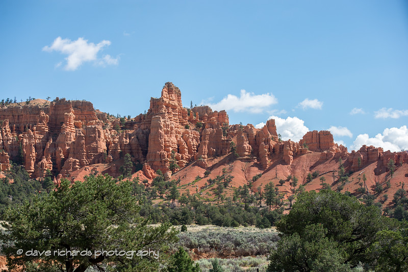 Red Canyon scenery