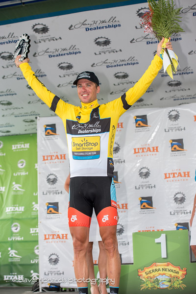 Jure Kocjan takes over the leader's jersey