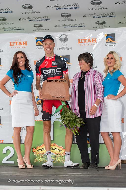 stage 2 winner Schar gets a piece of Torrey sandstone