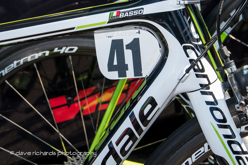 what can I say - it's Ivan Basso's bike