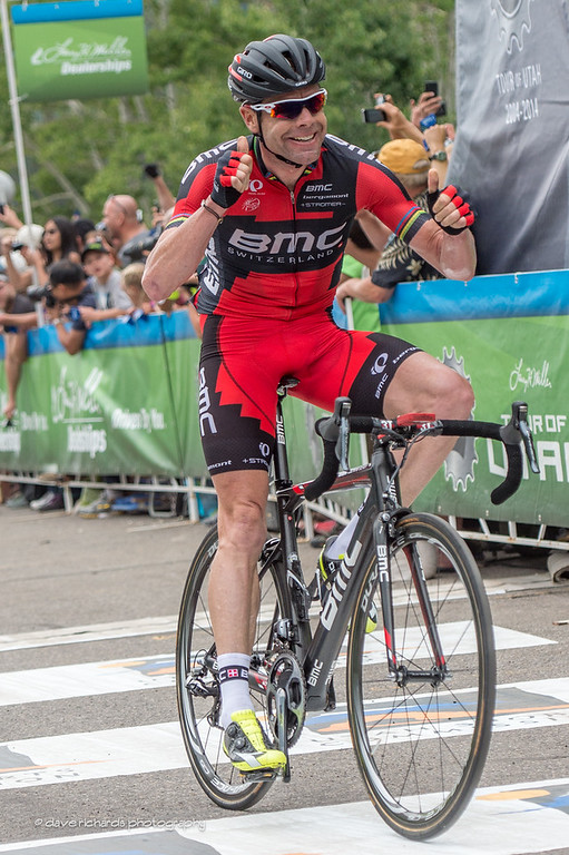 Cadel Evans holds on for a solo stage win