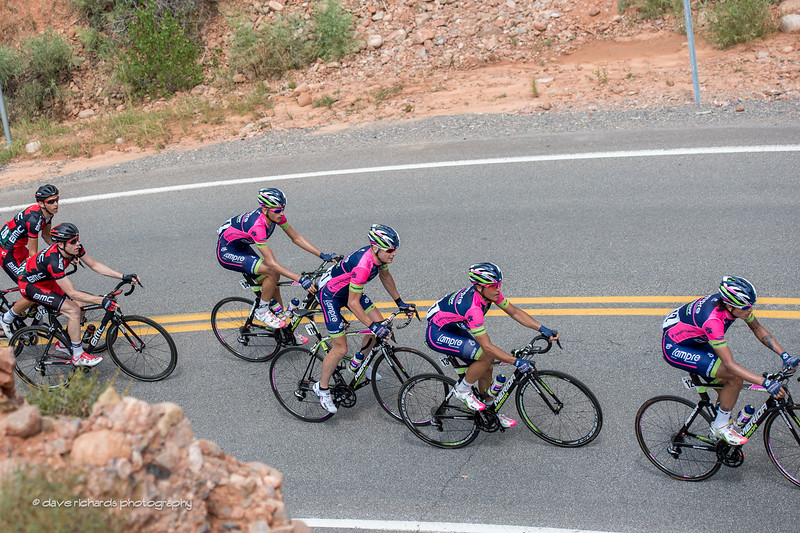 Chris Horner & his Lampre boys climbing Big Mtn.