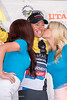 """Tommy """"D"""" Danielson  gets his victory kisses"""