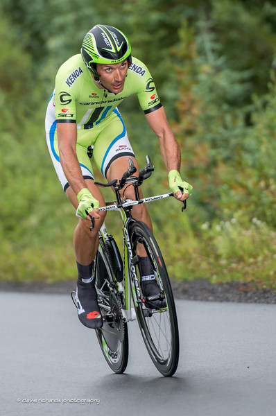 Ivan Basso (Cannondale) on the final climb of the Vail Time Trial, Stage 6, 2014 USA Pro Challenge