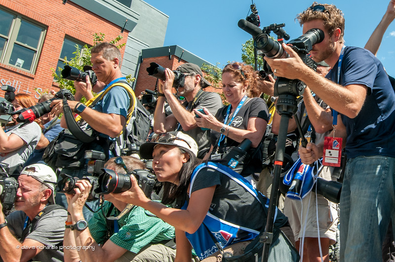 cameras ready? Action! Stage 7, 2014 USA Pro Challenge