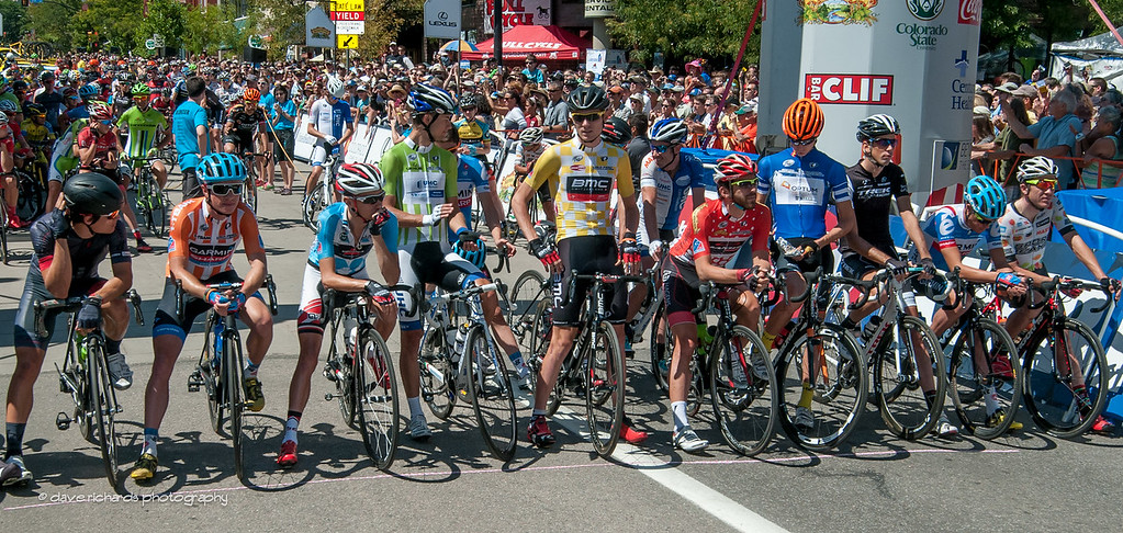 the starting lineup, Stage 7, 2014 USA Pro Challenge