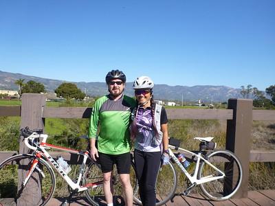 2015 (Jan 4, 7, 9, 15, 23) Santa Barbara rides in Jan