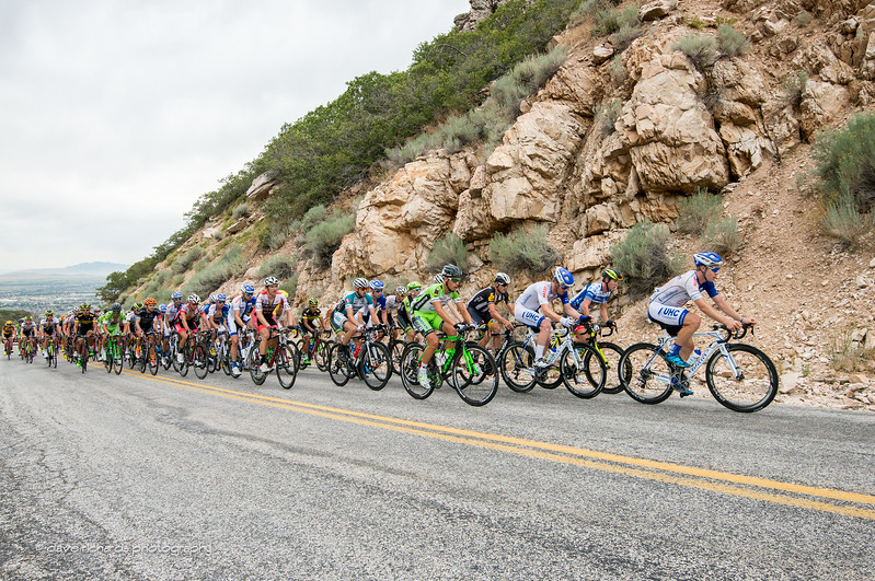 UHC leads the charge chasing the break up North Ogden Pass, Stage 3 2015 Tour of Utah