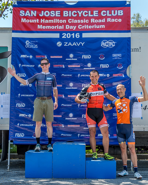 2016 Memorial Day Crit Podium Shots