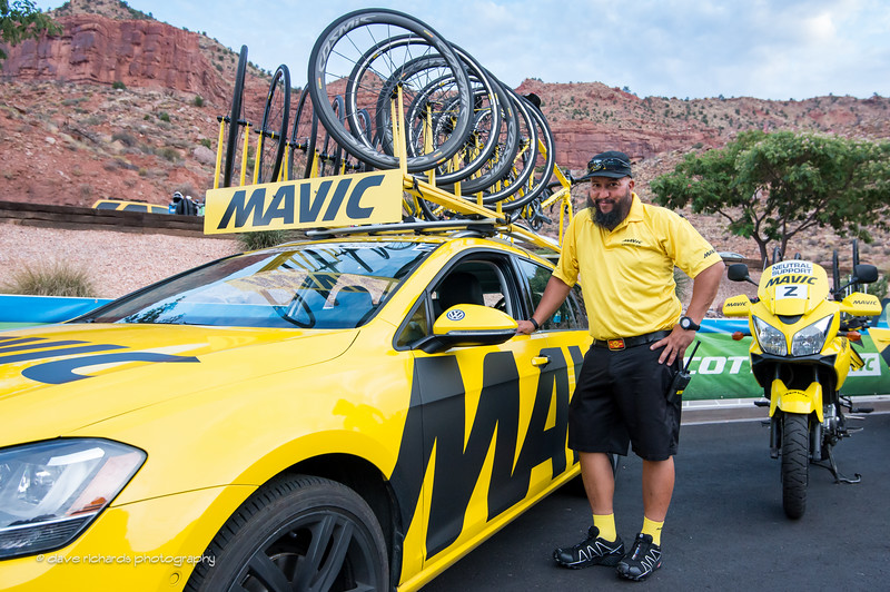 Mavic neutral support all cleaned up and spiffy ready for Stage 1 thru Zion National Park,, 2016 Tour of Utah