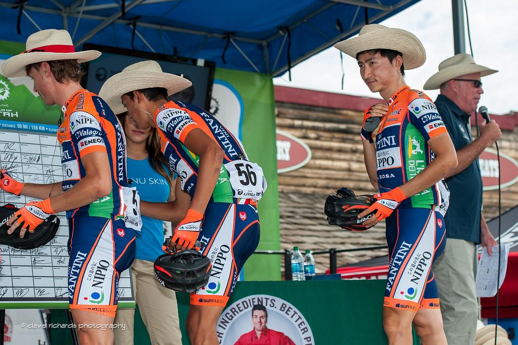 Japanese Cowboys, Stage 2 2016 Tour of Utah