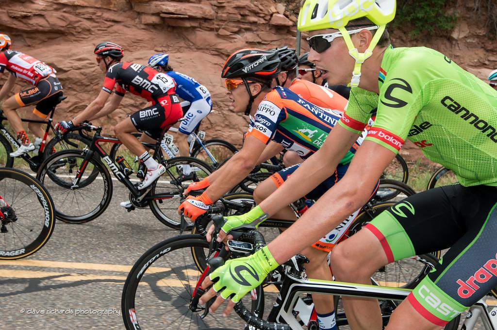 defending Tour of Utah champion Joe Dombrowski (Cannondale Drapac) Stage 2, 2016 Tour of Utah