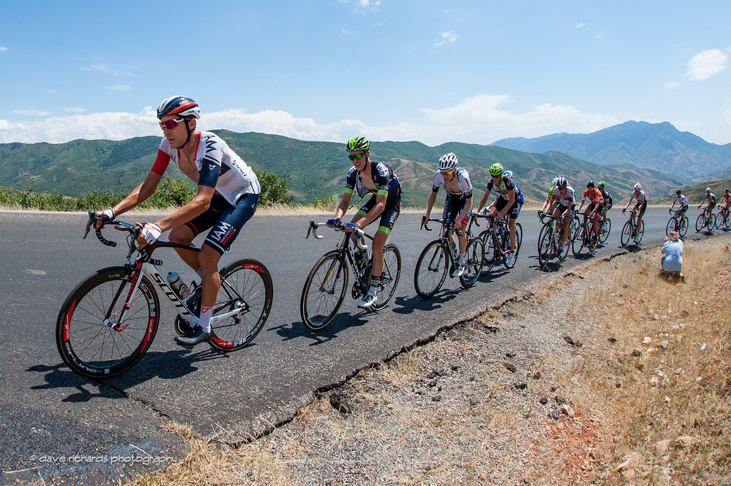 drillin' the climb on Mt. Nebo, Stage 3, 2016 Tour of Utah