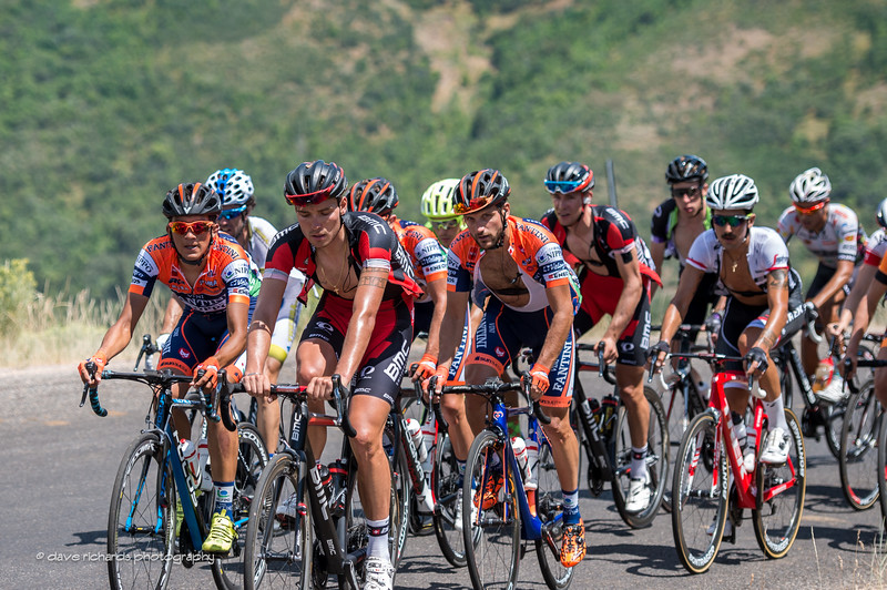 suffering loves company on hte climb up Mt. Nebo, Stage 3, 2016 Tour of Utah