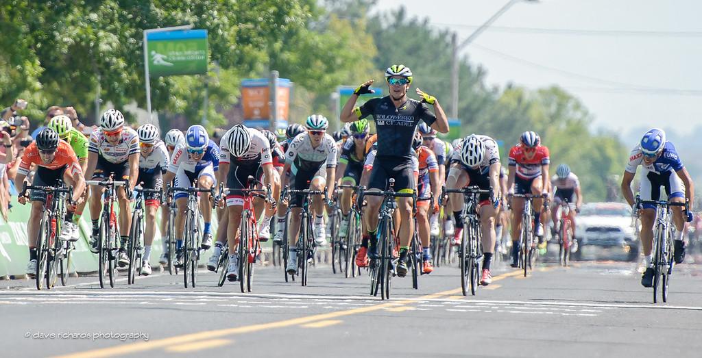 Travis McCabe (Holowesko/Citadel Hincapie) takes the win on Stage 4, 2016 Tour of Utah