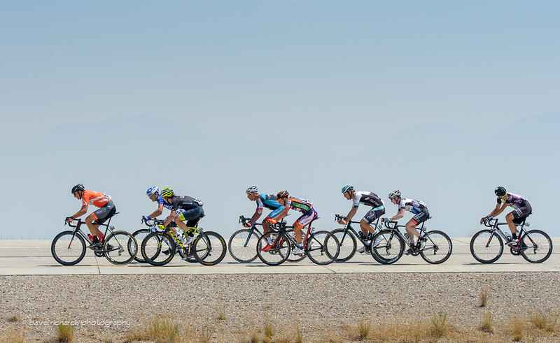 Eight man breakaway, Stage 4, 2016 Tour of Utah