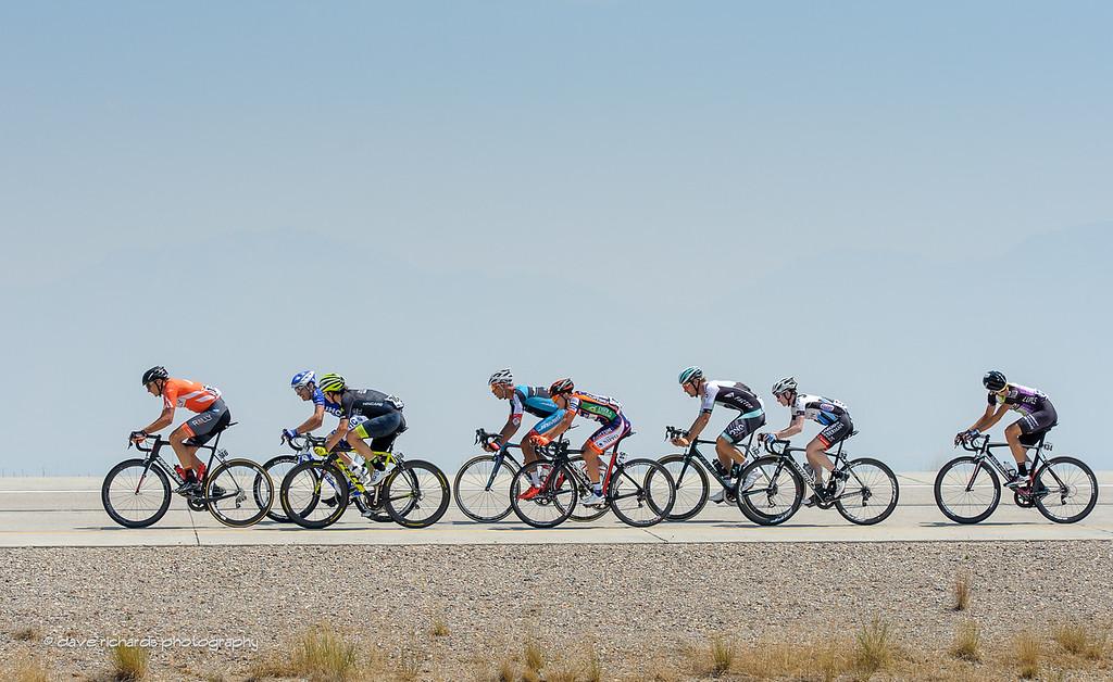 Eight man breakaway, Stage 4, 2016 Tour of Utah