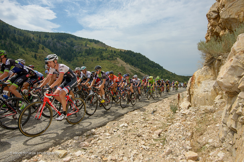 you can just feel the heat coming off the rocks as the riders roll by, Stage 5, 2016 Tour of Utah