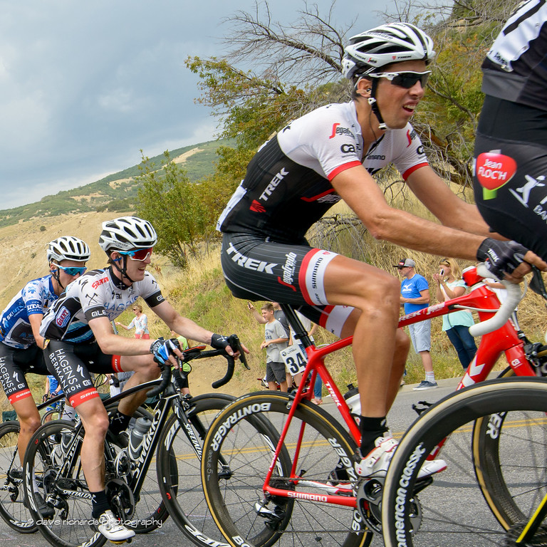 the riders are feeling the hurt on the final climb up Bountiful Bench, Stage 5, 2016 Tour of Utah