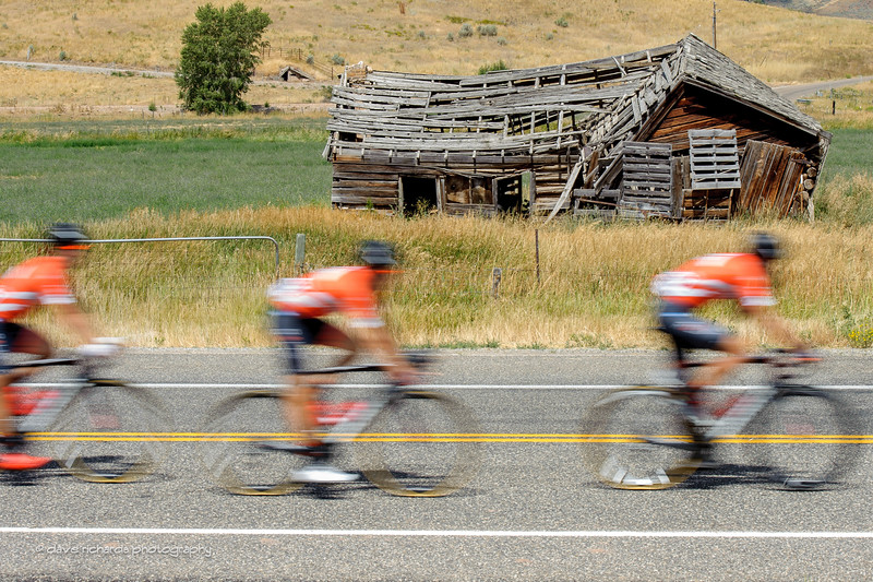Orange triple scoop. Stage 6, 2016 Tour of Utah. Photo by Dave Richards, daverphoto.com