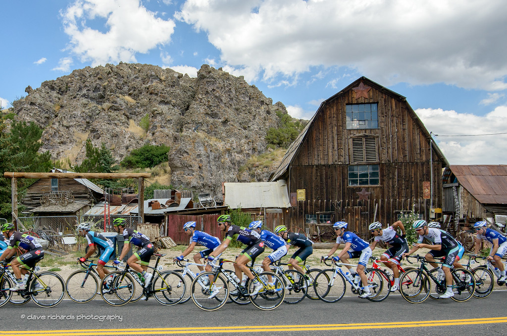 Believe it or not, but this antique shop in an old barn is open for business only one weekend each year. Stage 6, 2016 Tour of Utah. Photo by Dave Richards, daverphoto.com