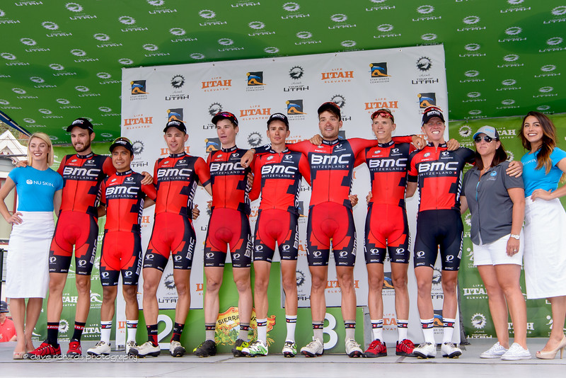 Overall Best Team Winner: BMC Racing. Stage 7, 2016 Larry H. Miller Tour of Utah. Photo by Dave Richards, daverphoto.com