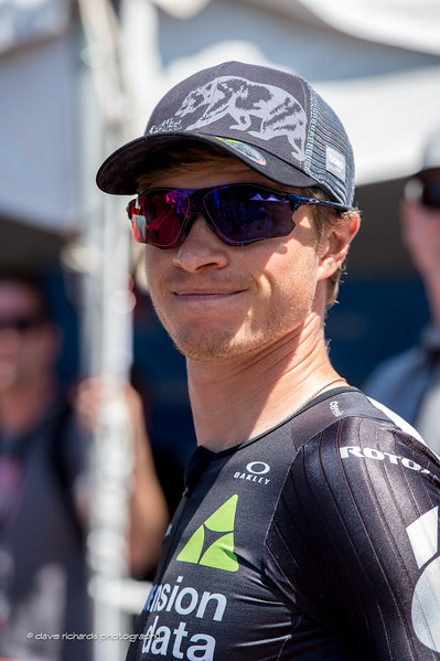 Ben King (Dimension Data) at the riders sign-in for Men's Stage 2, 2017 Amgen Tour of California (Photo by Dave Richards, daverphoto.com)