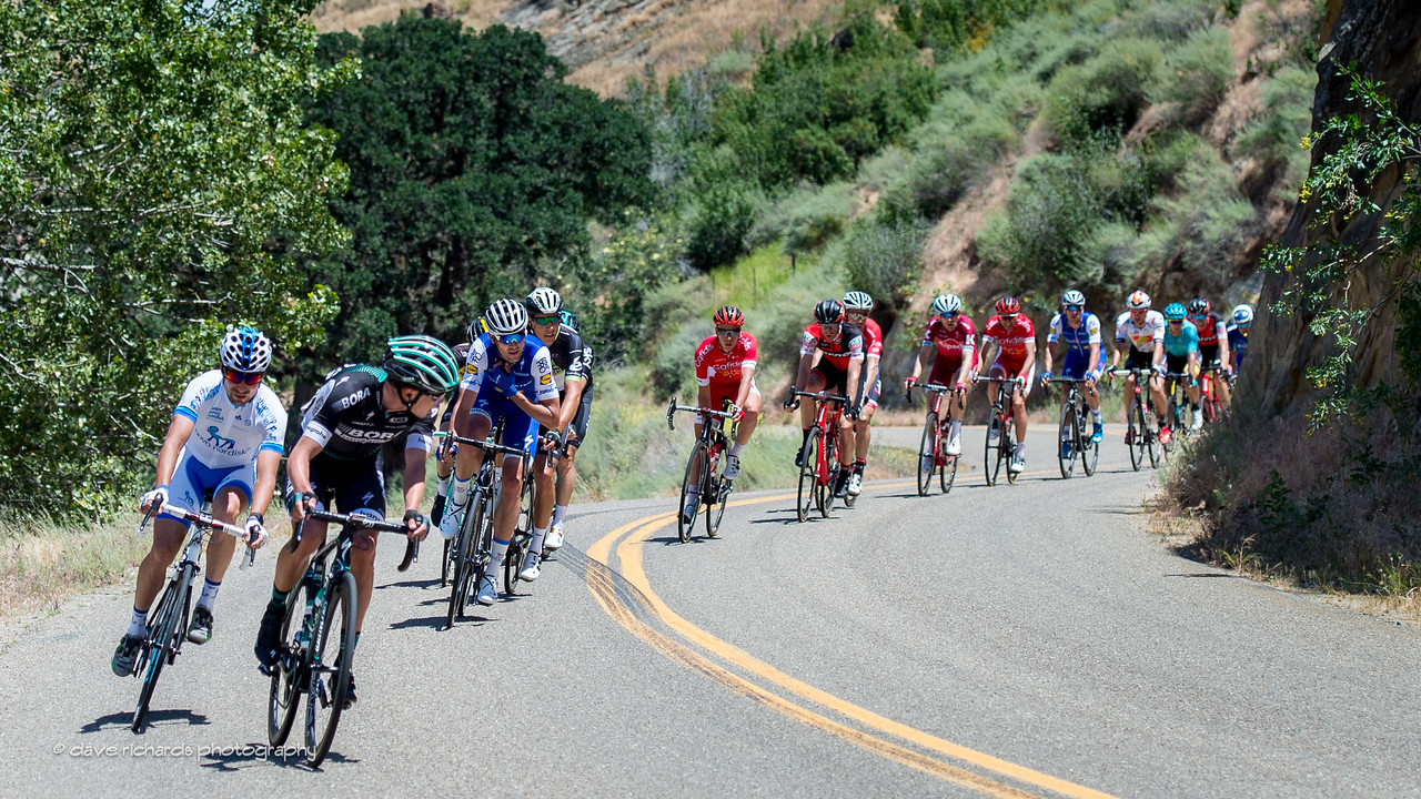 Looking back to see who's following on Men's Stage 2, 2017 Amgen Tour of California (Photo by Dave Richards, daverphoto.com)