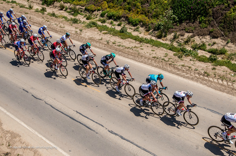 Riders & shadows II. Men's Stage 3, 2017 Amgen Tour of California (Photo by Dave Richards, daverphoto.com)
