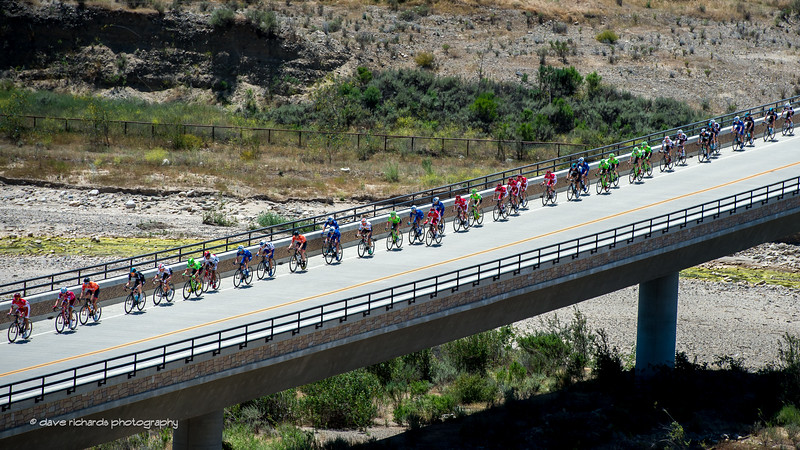 Single file ony! Men's Stage 3, 2017 Amgen Tour of California (Photo by Dave Richards, daverphoto.com)