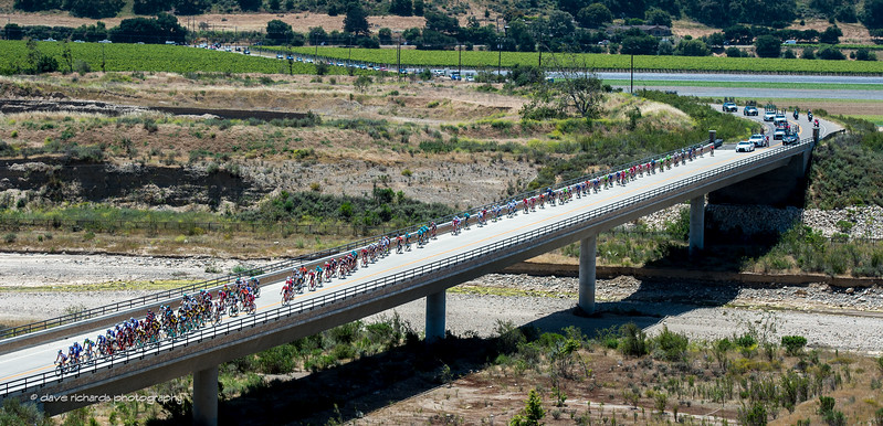 Bridge Work. Men's Stage 3, 2017 Amgen Tour of California (Photo by Dave Richards, daverphoto.com)