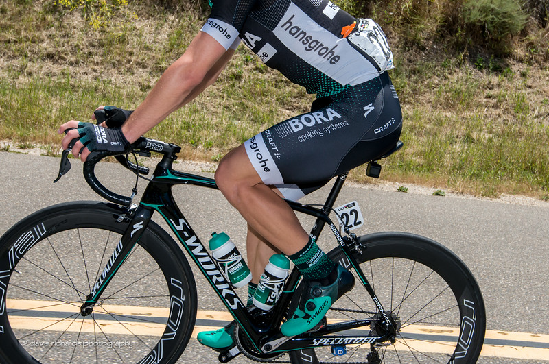 Bora-Hansgrohe racing kit. Men's Stage 3, 2017 Amgen Tour of California (Photo by Dave Richards, daverphoto.com)